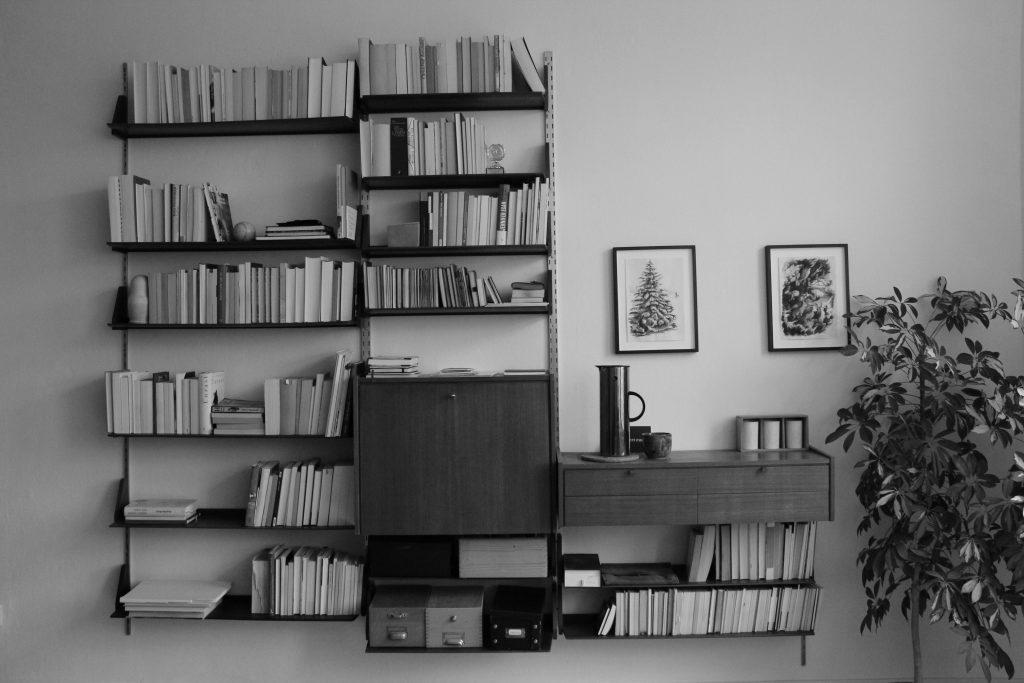 My white male bookshelf