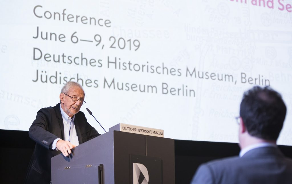 Steven Aschheim at George Mosse Conference in Berlin