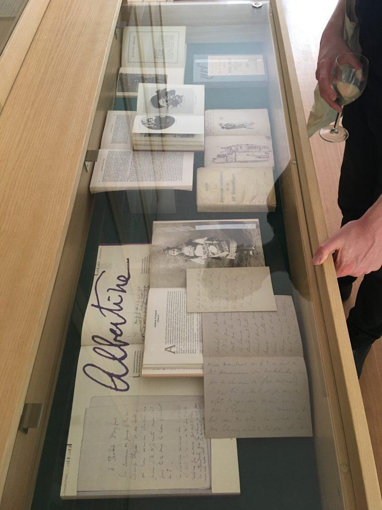 Ausstellung Proust Gesellschaft Le Questionnaire de Proust
