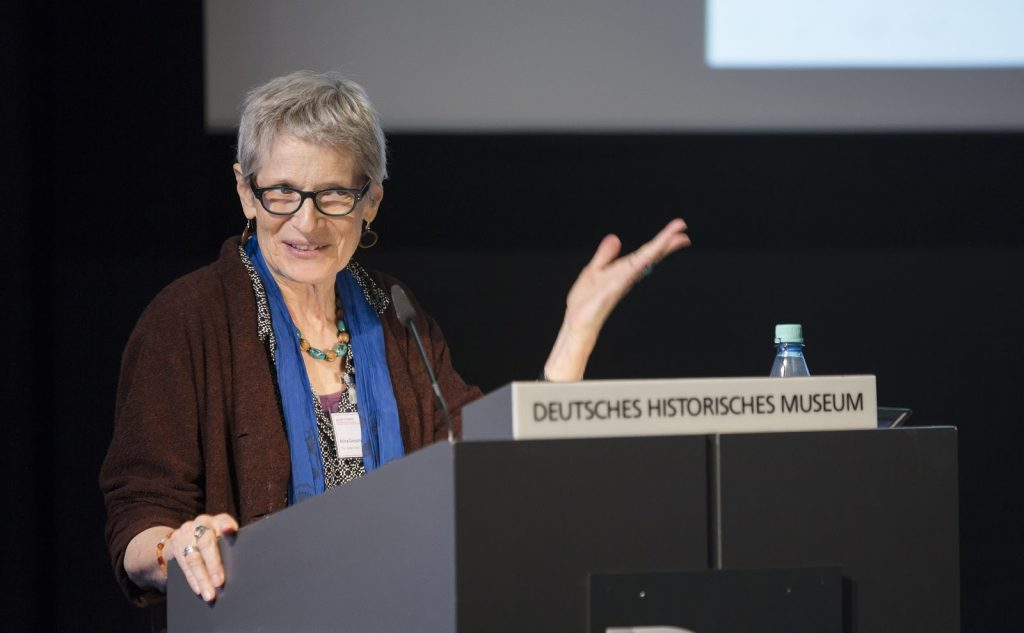 Atina Grossmann at George Mosse Conference at DHM Berlin